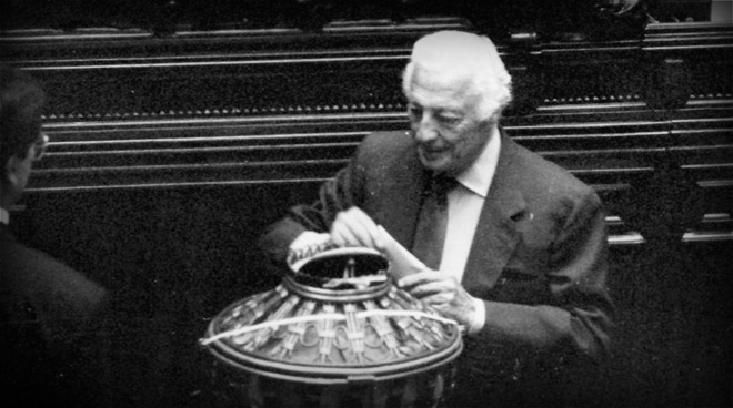 Gianni Agnelli is nominated Senator for life on 1st June, 1991.